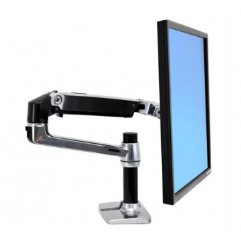 Ergotron LX Desk Monitor Arm, 45-241-026 (Polished...
