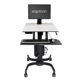 Ergotron WorkFit-C, Single LD Sit-Stand Workstation, 24-215-085