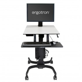 Ergotron WorkFit-S, Single HD Workstation, 24-216-085