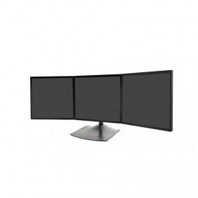 Ergotron DS100 三顯示器台式支架, 33-323-200 (黑色)