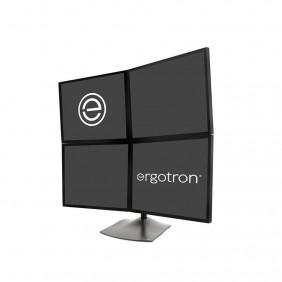 Ergotron DS100 四顯示器台式支架, 33-324-200 (黑色)