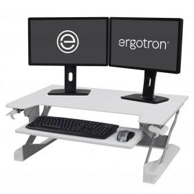 Ergotron WorkFit-TL, Sit-Stand Desktop Workstation, 33-406-062 (WHITE)