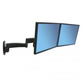 Ergotron 200 Series Dual Monitor Arm, 45-231-200 (Black)