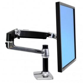 Ergotron LX Desk Monitor Arm, 45-241-026 (Polished Aluminum)