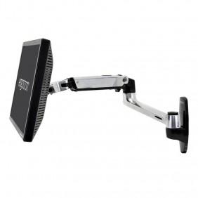 Ergotron LX Wall Monitor Arm, 45-243-026 (Polished Aluminum)