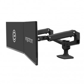 Ergotron LX Dual Side-by-Side Arm, 45-245-224 (Black)