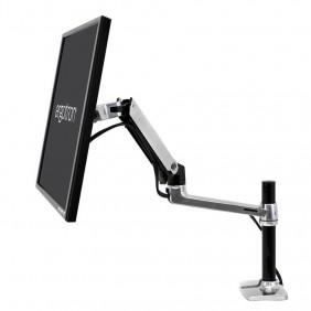 Ergotron LX Desk Monitor Arm, Tall Pole, 45-295-026 (Polished Aluminum)