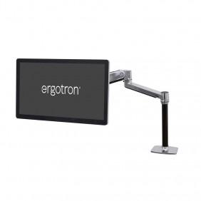 Ergotron LX 坐站兩用台式液晶顯示器支臂, 45-360-026 (鋁色)