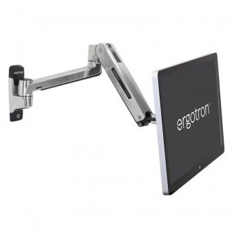 Ergotron LX HD Sit-Stand Wall Arm, 45-383-026 (Pol...