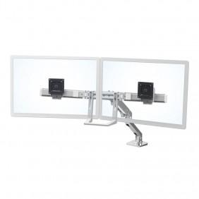 Ergotron HX Desk Dual Monitor Arm, 45-476-026 (polished aluminum)