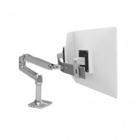 Ergotron LX Desk Dual Direct Arm, 45-489-026 (POLISHED ALUMINUM)