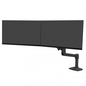 Ergotron LX Desk Dual Direct Arm, 45-489-224 (BLACK)