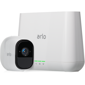 Arlo Pro2 1080P Wire-Free Weather-Proof 1-Camera System, VMC40303P + VMB 4000