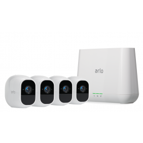 Arlo Pro2 1080P Wire-Free Weather-Proof 4-Camera System, VMS4430P
