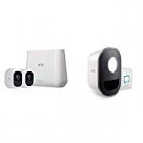 Arlo Pro2 2-cam system + Audio Doorbell, VMA4230P + AAD1001