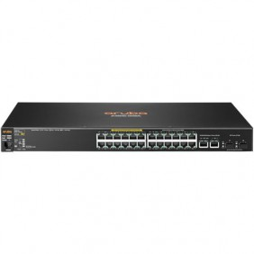 Aruba 2530-24G-PoE+ Managed 24-port Gigabit Ethernet Switch, J9773A