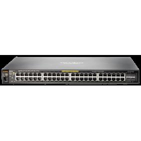 Aruba 2530-48G-PoE+ Managed 48-port Gigabit Ethernet Switch, J9772A