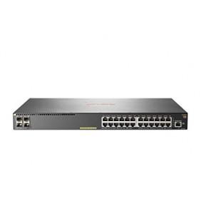 Aruba 2930F-24G PoE+ 4SFP+ Managed 24-port Gigabit Ethernet Switch, JL255A