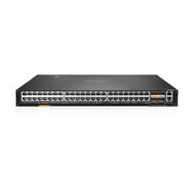 Aruba 8320 48p 1G/10GBASE-T and 6p 40G QSFP+ with X472 5 Fans 2 Power Supply Switch Bundle, JL581A