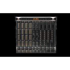 Aruba 8400 1x Mgmt Mod 3x PS 2x 8400X Fabric Mod 1x 32p 10G Mod and 1x 8p 40G Mod Bundle, JL376A