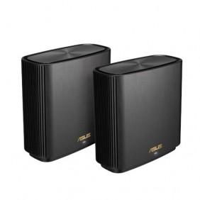 ASUS AX6600 Tri Band Mesh WiFi System, ZENWIFI XT8 (2-PK)/BLACK