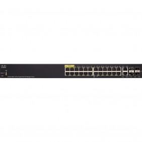 Cisco 28-port Gigabit POE Managed Switch, SG350-28MP-K9-UK
