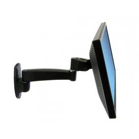 Ergotron 200 Series Wall Monitor Arm, 45-233-200 (Black)