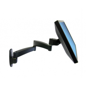Ergotron 200 Series Wall Monitor Arm, 45-234-200 (Black)