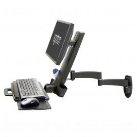 Ergotron 200 Series Monitor Mount, 45-230-200 (Black)