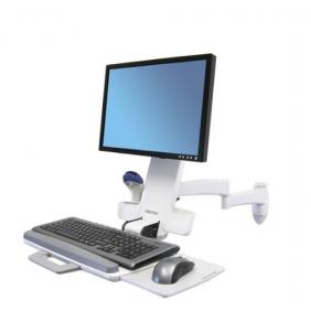 Ergotron 200 Series Monitor Mount, 45-230-216 (White)
