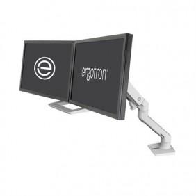 Ergotron HX Desk Dual Monitor Arm, 45-476-216 (white)