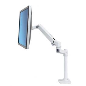 Ergotron LX Desk Monitor Arm, Tall Pole, 45-537-216 (White)