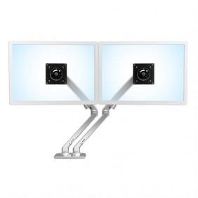 Ergotron MXV Desk Dual Monitor Arm, 45-496-026 (POLISHED ALUMINUM)