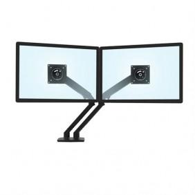 Ergotron MXV Desk Dual Monitor Arm, 45-496-224 (BLACK)