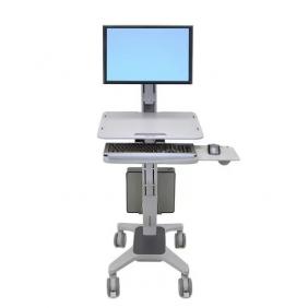 Ergotron WorkFit-C, Single LD Sit-Stand Workstation, 24-198-055