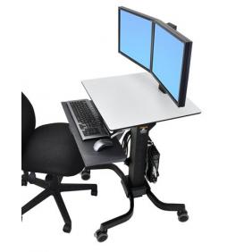 Ergotron WorkFit-C, Dual Sit-Stand Workstation, 24-214-085
