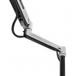 Ergotron WorkFit-LX, Sit-Stand Desk Mount System, 45-405-026 (POLISHED ALUMINUM)