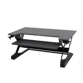 Ergotron WorkFit-TL, Sit-Stand Desktop Workstation, 33-406-085 (BLACK)