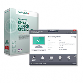 Kaspersky Small Office Security 2 Years - 5 PCs + 5 Mobile Device + 1 File Server Pack, SOFKSOS5W1S2Y