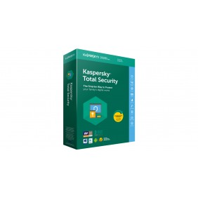 Kaspersky Total Security Multi-Device Boxset 3 Years - 1 Device Pack, SOFBOXKTSMD1D3Y