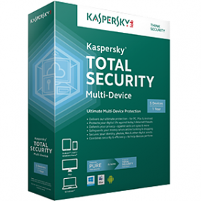 Kaspersky Total Security Multi-Device Boxset 3 Years - 3 Devices Pack, SOFBOXKTSMD3D3Y