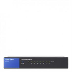 Linksys 8-Port Desktop Gigabit Unmanaged Switch, LGS108