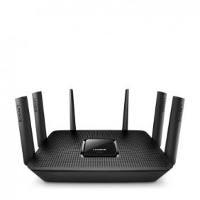 Linksys EA9300 Max-Stream AC4000 Wave2 MU-MIMO Tri-Band Wi-Fi Router w/USB3.0, EA9300-HK