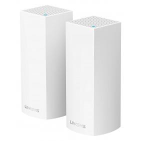 Linksys Velop Mesh WiFi WHW0302 Tri-Band AC4400 2PK, WHW0302-AH
