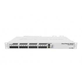 MikroTik 17 Port Gigabit Smart Switch, Model: CRS317-1G-16S+RM