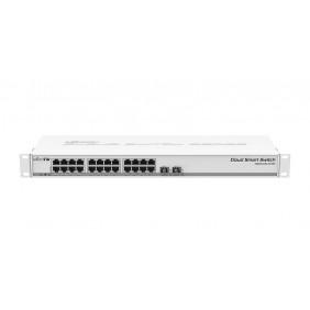 MikroTik 9 Port Gigabit Smart Switch, Model: CRS109-8G-1S-2HnD-IN