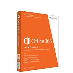MS Office 家用進階版 32bit/64bit ChnTrad Subscr 1年 HK/TW/MC DM Medialess P2 (FPP)