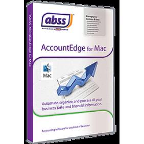 MYOB ABSS AccountEdge Network Edition v13, 3User For Mac OS