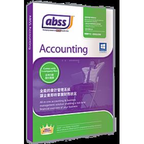 MYOB ABSS Accounting v25, 1User