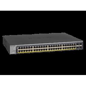 Netgear 48 Port Gigabit PoE+ Smart Managed Pro Switch, GS752TPv2